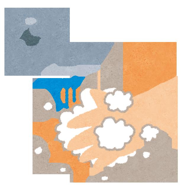 手洗い・手指消毒は介護の基本